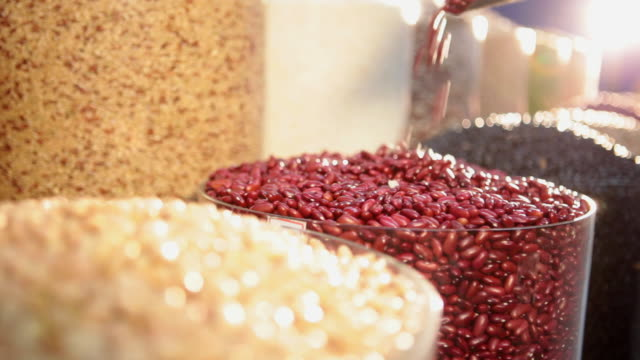 ms brazilian typical grains / food beans and rice / sao paulo, brazil - legume family stock videos and b-roll footage