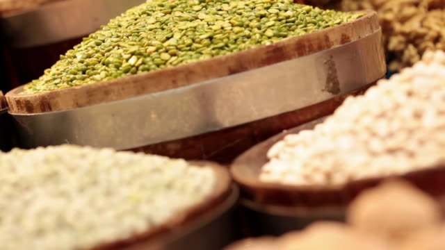 ms r/f td brazilian typical grains / sao paulo, brazil - bean stock videos & royalty-free footage