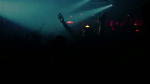 vídeos de stock, filmes e b-roll de ms brazilians dance at a fashionable nightclub / buzios, brazil - discoteca