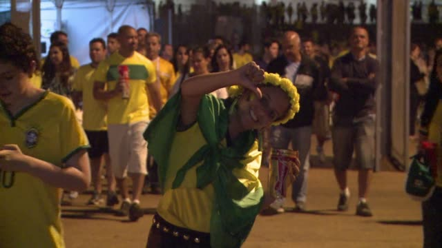 Brazils fans were disappointed again after their side suffered another heavy defeat this time to the Netherlands in the third place play off