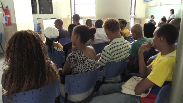 brazil's jobless rate hit another consecutive record with more than 14 million people out of work government statistics showed friday - friday stock videos & royalty-free footage