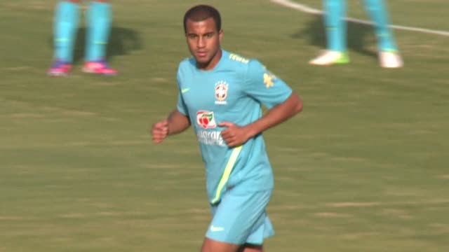 brazil's national football team prepares for friday's friendly against south africa. cotia, brazil. - friday stock videos & royalty-free footage
