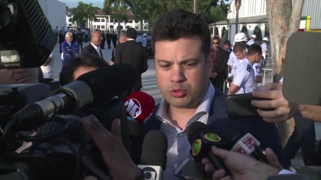 vídeos de stock, filmes e b-roll de brazil's sports minister said it hopes that all countries will take part at next months rio olympics after a report revealed rampant russian state... - rio russian