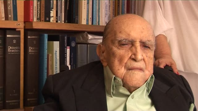 brazil's star architect oscar niemeyer who revolutionised modern architecture with his sensual curves inspired by 'the body of the brazilian woman'... - oscar niemeyer stock videos and b-roll footage