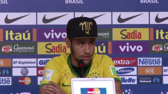 Brazils star striker Neymar says hes proud to have been part of the side which got to the 2014 World Cup semi final despite their 71 defeat to Germany