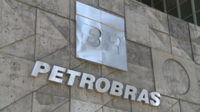brazil's state run oil giant petrobras rocked by a massive graft scandal said thursday that secondquarter net income fell nearly 90 percent from a... - pct stock videos and b-roll footage