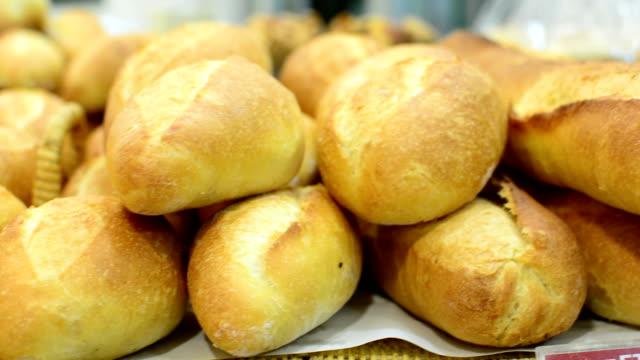 bread - bun stock videos & royalty-free footage