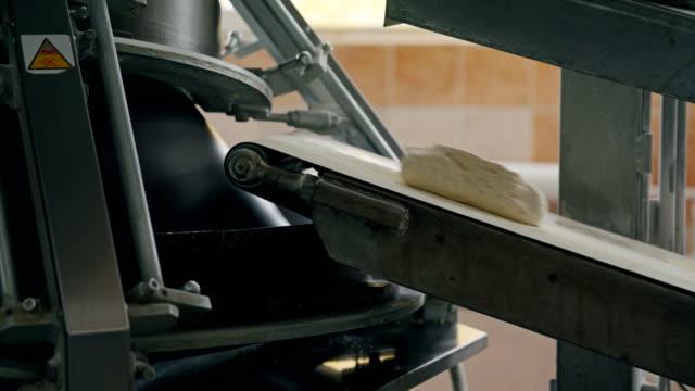 Bread-baking plant. Dough molding machine