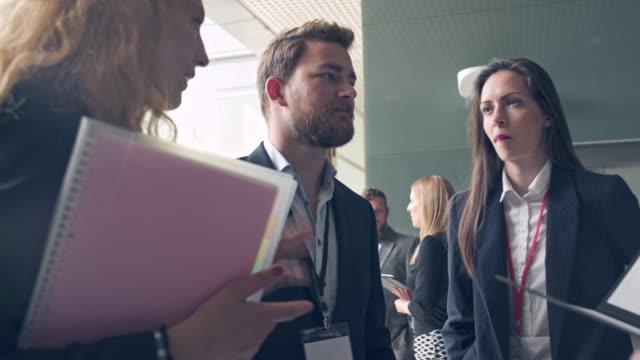 break during seminar - social gathering stock videos & royalty-free footage