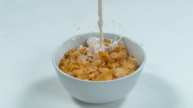 break out the cereal, it's time for breakfast - bowl stock videos & royalty-free footage