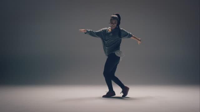 Breakdance vrouw