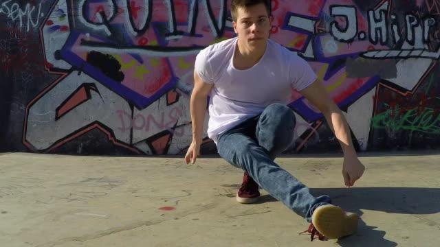Breakdancer moves.
