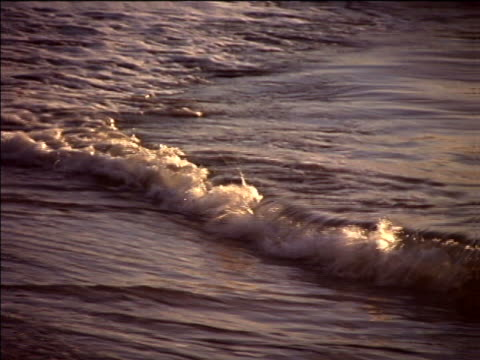 breakers on a sandy shore - artbeats stock videos & royalty-free footage
