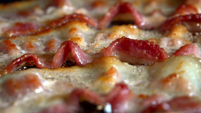 breakfast bacon cooking - bacon stock videos & royalty-free footage