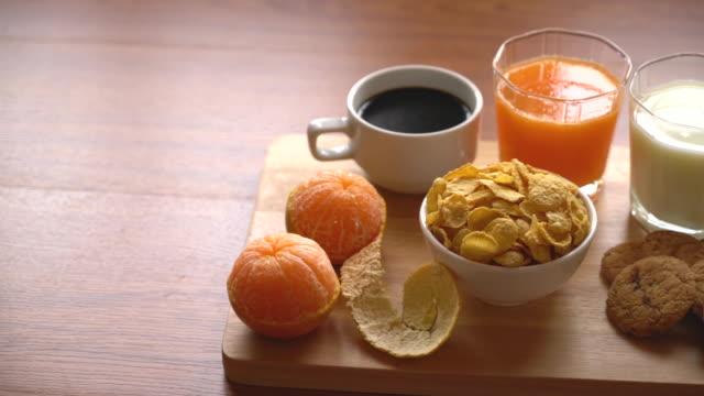 Configuration petit déjeuner