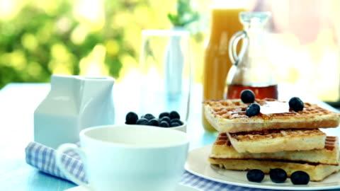 breakfast - still life stock videos & royalty-free footage