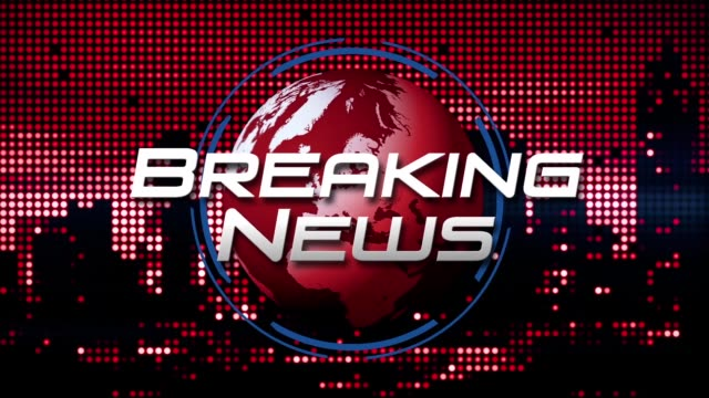 """breaking news"" 3d graphic animation (red) - digital animation stock videos & royalty-free footage"