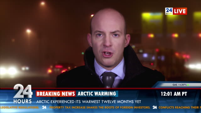 hd: breaking news about global warming - breaking news stock videos and b-roll footage