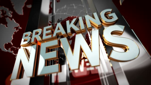 Breaking News Background - Looping Motion Background