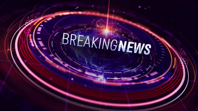 breaking news intro in 4k - nachrichtenereignis stock-videos und b-roll-filmmaterial