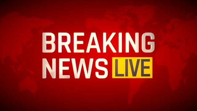 breaking news - live - breaking news stock videos & royalty-free footage