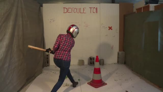 Breaking plates smashing a fridge with a baseball bat and feeling totally calm afterwards a moving company in northern France has teamed up with a...