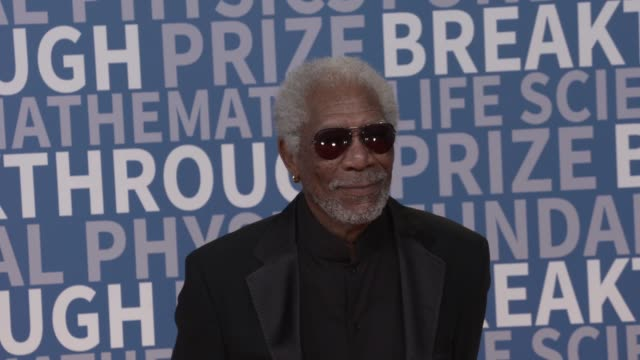 breakthrough prize at nasa ames research center on december 03 2017 in mountain view california - morgan freeman stock videos & royalty-free footage