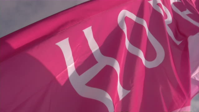 breast cancer 3-day race for the cure - breast cancer stock videos & royalty-free footage