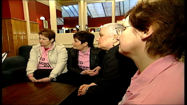 ann marie rogers loses fight to be prescribed herceptin london ext jan stubbings speaking to press sot this was not a cost issue for pct but it is... - pct stock videos and b-roll footage