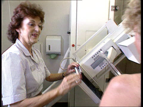 screening of older women CF aC4N F'back mammograph carried out Xrays C4N