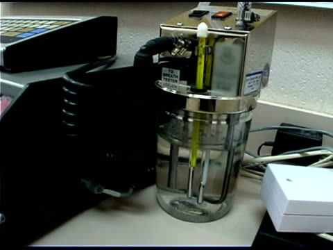 Breath analyzer machine