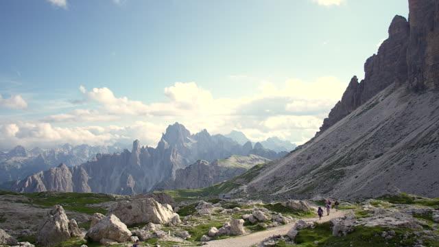 Breathtaking mountian landscape in south tyrol