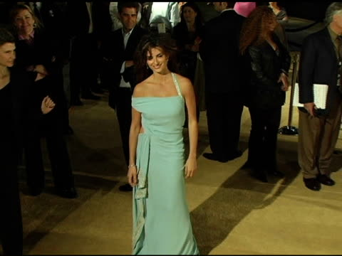 breck eisner and penelope cruz at the 'sahara' los angeles premiere at grauman's chinese theatre in hollywood california on april 4 2005 - breck eisner stock videos & royalty-free footage