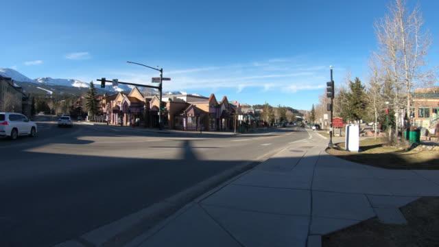 Breckenridge, Colorado, intersection Main Street