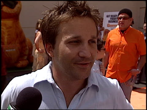 Breckin Meyer at the 'Garfield The Movie' Premiere at Fox Studios in Los Angeles California on June 6 2004