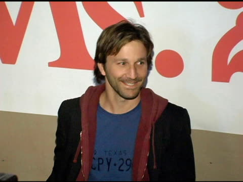 breckin meyer at the ms magazine 2004 women of the year arrivals at spider club in los angeles, california on november 29, 2004. - house spider stock videos & royalty-free footage