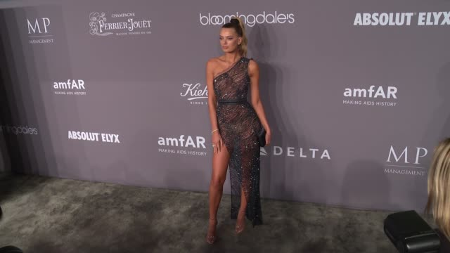 bregje heinen at the 20th annual amfar gala new york at cipriani wall street on february 07 2018 in new york city - amfar stock videos & royalty-free footage