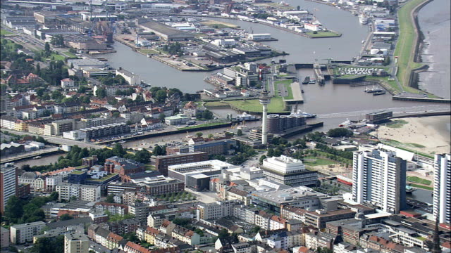 Bremerhaven  - Aerial View - Bremen,  Germany