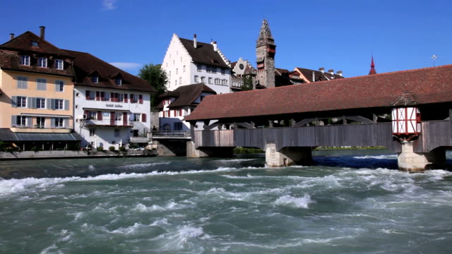 bremgarten, canton aargau - montevideo stock videos & royalty-free footage
