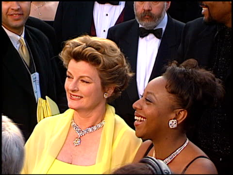 brenda blethyn at the 1997 academy awards arrivals at the shrine auditorium in los angeles, california on march 24, 1997. - 69th annual academy awards stock videos & royalty-free footage