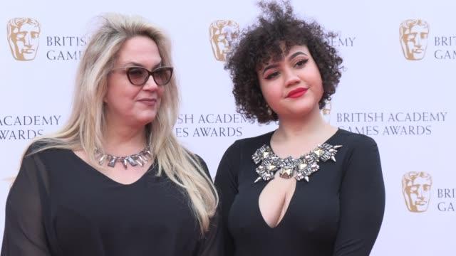 brenda romero on april 04 2019 in london united kingdom - british academy television awards stock videos & royalty-free footage