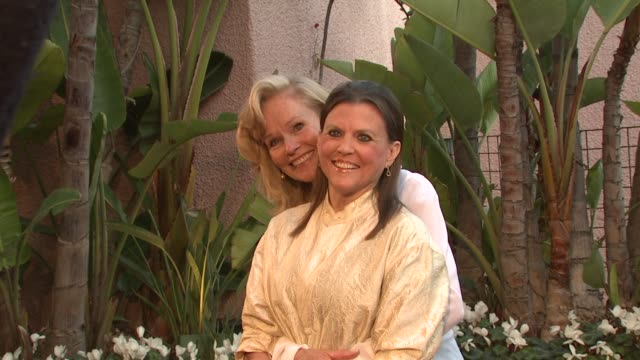brenda siemerscheider ann reinking at the smiles from the stars a tribute to the life and work of roy scheider at beverly hills ca - ann reinking stock videos and b-roll footage