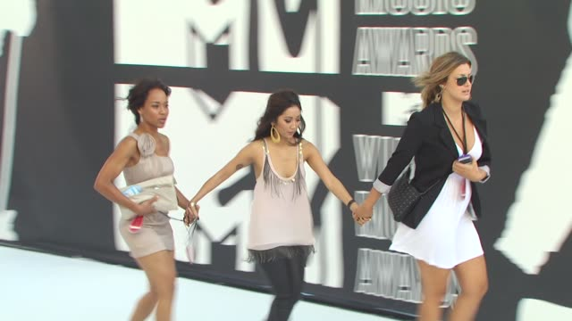 brenda song at the 2010 mtv video music awards at los angeles ca - brenda song stock videos & royalty-free footage