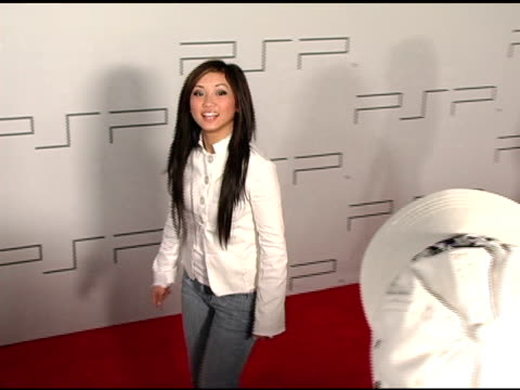 Brenda Song at the PretaPSP Accessories Show at Pacific Design Center in West Hollywood California on March 14 2005