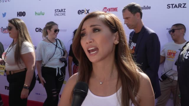 interview brenda song on everything the event does to beat cancer at the stand up to cancer 2018 at barker hangar on september 07 2018 in santa... - brenda song stock videos & royalty-free footage