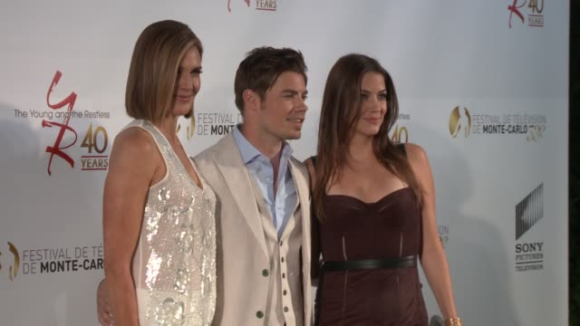 brenda strong josh henderson and julie gonzalo at 53rd montecarlo television festival day 1 brenda strong josh henderson and julie gonzalo on june 10... - day 1 stock videos & royalty-free footage