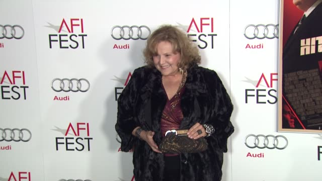 brenda vaccaro at afi fest 2012 opening night gala world premiere of hitchcock on 11/1/2012 in hollywood ca - ブレンダ ヴァッカロ点の映像素材/bロール