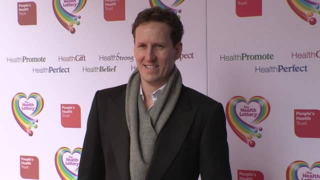 brendan cole at health lottery launch at claridge's hotel on march 28, 2013 in london, england - claridge's stock videos & royalty-free footage