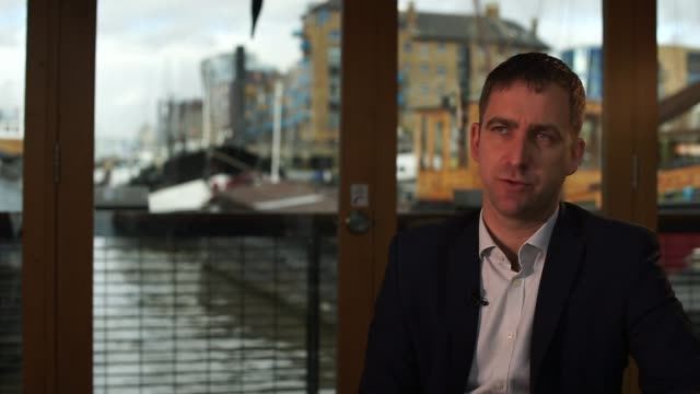 brendan cox interview brendan cox interview sot on not wanting to meet thomas mair or forgive him on how lucky we were to have jo - thomas mair stock videos and b-roll footage