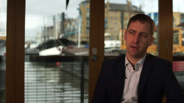 brendan cox interview brendan cox interview sot on rise of populism political ambitions of jo cox current political situation on jo cox foundation... - populism stock videos and b-roll footage